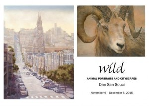 Wild Animal Portraits and Cityscapes by Dan San Souci